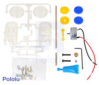 Tamiya 70203 low-current gearbox kit.