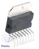 L298N Dual Full-Bridge Motor Driver