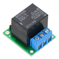 Pololu basic SPDT relay carrier with 5 VDC relay (assembled).