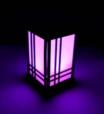 RGB shoji lamp
