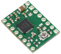 A4988 stepper motor driver carrier.