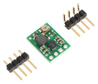 Pololu adjustable step-up voltage regulator U1V11A with included hardware.