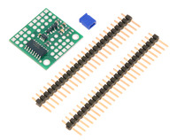 Pololu 4-Channel RC Servo Multiplexer (Partial Kit) with included hardware.