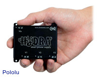 Hydra smart triple-output DC power supply.
