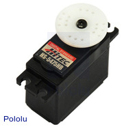 Hitec HS-5475HB servo without electronics.