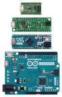 Pololu A-Star 32U4 Micro, Pololu A-Star 32U4 Mini SV, Arduino Micro, and Arduino Leonardo.