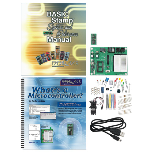New product: Parallax BASIC Stamp Discovery Kit (USB)