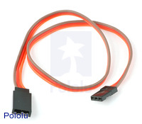 "Servo Extension Cable 12"" Male - Female"